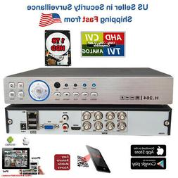 Evertech 4 Channel Real-time DVR H.264 Full D1 High-definiti