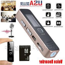 Rechargeable Digital Audio/Sound/Voice Recorder Dictaphone M