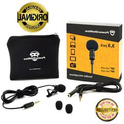 SALE! PowerDeWise Grade Lavalier Lapel Microphone, Perfect f