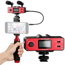 Saramonic SmartMixer Handheld Recording Stereo Microphone Ri