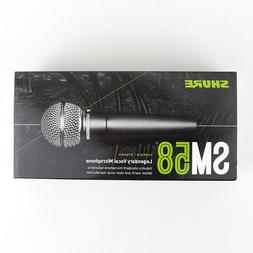 sm58s vocal microphone with on off switch