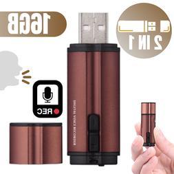 BUG USB Voice Activated Recorder Digital Mini Audio Listenin