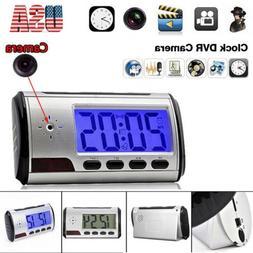 Spy Clock Alarm Camera Security Hidden DVR Motion Detector R