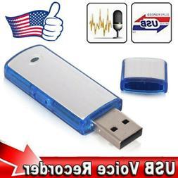 SPY Mini 8/16/32GB USB Disk Pen Drive Digital Audio Voice Re