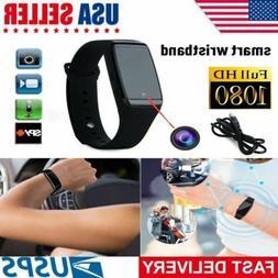 Spy Wrist Watch 1080P 32GB IR Hidden Video Camera Waterproof