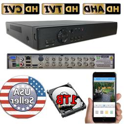 Sikker 16 Ch Channel standalone Video Security DVR Camera Re