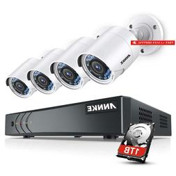 Annke Surveillance Camera System, 8Ch 3Mp Cctv Dvr Recorder