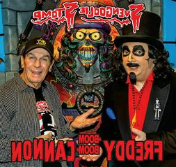SVENGOOLIE STOMP Freddy Cannon 2016 picture sleeve black vin