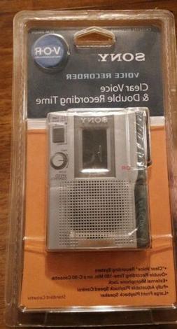 Sony TCM-200DV Handheld Cassette Voice Recorder - Brand New!
