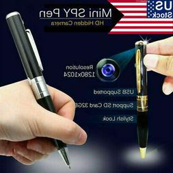 US 32GB HD Hidden Pen Cam Camera Video Sound Recorder USB DV