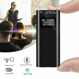 96 Hours OLED Screen Digital Voice Audio Activated Sound Rec