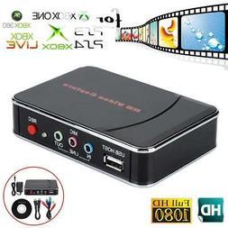 USB HD Video Capture Card 1080P HDMI Audio Recorder Game Box