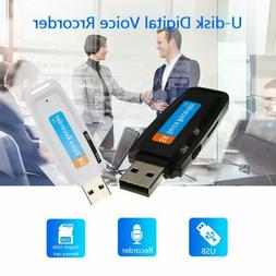 USB Mini Voice Recorder Digital Hidden Record 32GB Small Dri