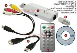 USB Universal TV Tuner With MPEG Video Capture DVR Recorder