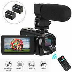 Video Camera Camcorder,Digital Camera Recorder with Micropho