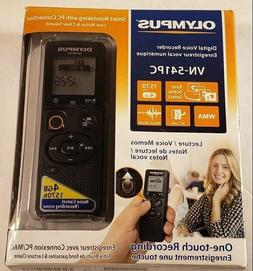 Olympus VN-541PC 4GB Digital Handheld Recorder Noise Cancell
