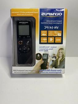 Olympus VN-541PC 4GB Digital Voice Recorder - Black