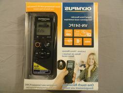 Olympus VN-541PC 4GB Digital Voice Recorder - Black New Open