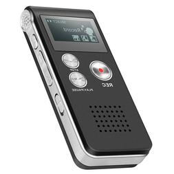 Digital Voice Recorder Dictaphone Audio Sound Recorder Mini