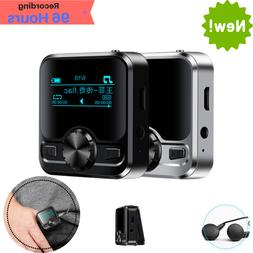 Voice Activated Digital Recorder Mini MP3 Music Bluetooth Pl