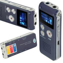 Voice Activated Mini Digital Sound Audio Recorder Dictaphone