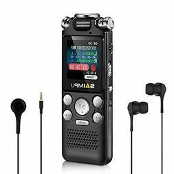 Voice Recorder-16GB Voice Activated Recorder with Variable S