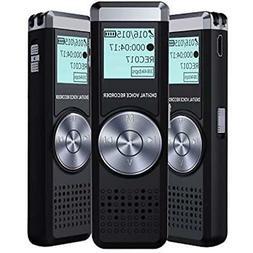Voice Recorder 8GB Portable Tape Digital Recording Device Fo