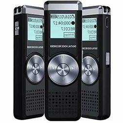Voice Recorder For Lectures Tape Recorder With MP3 IIDA 8GB