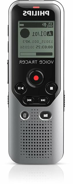Philips Voice Tracer DVT1200 4GB Digital Voice Recorder New