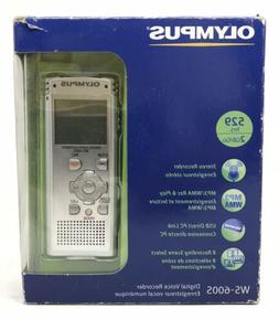 Olympus WS-600S Digital Voice Recorder 140151 Silver 2GB 529