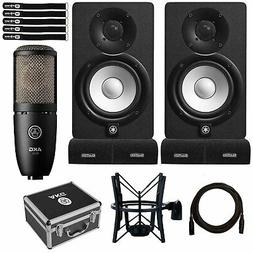 "Yamaha HS5 5"" Powered Studio Recording Monitor Speakers Pair"
