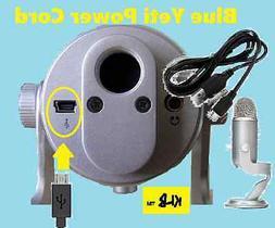Blue Yeti Microphones USB Recording Mic Pro Studio Power Cor