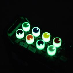 Zoom F8 / F8n Custom-Colored / Glow Knobs & XLR Input Caps |
