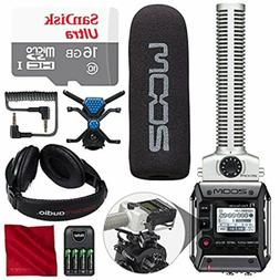 Zoom F1-SP Field Recorder with Shotgun Microphone F1-SP Pack